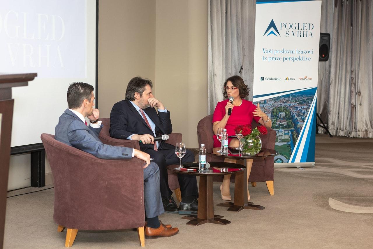 Pogled s vrha: Andreja Švigir, Velimir Šonje, Andrej Grubišić